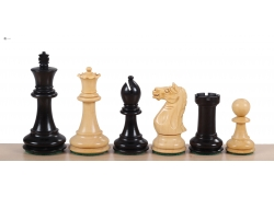 Oxford Ebonised 3,75'' chess pieces